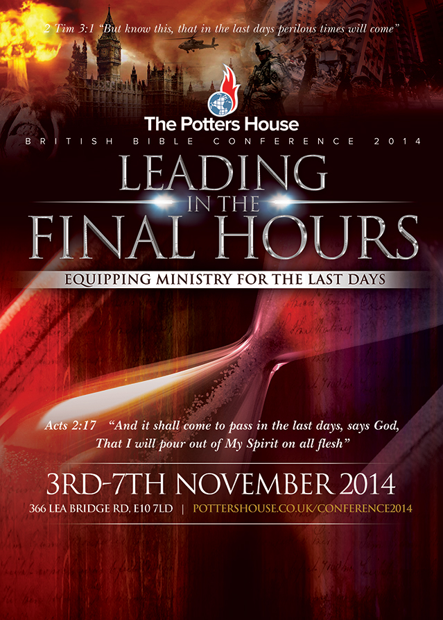 uk bible conference 3rd  u2013 7th november 2014  u2013 the potter u0026 39 s